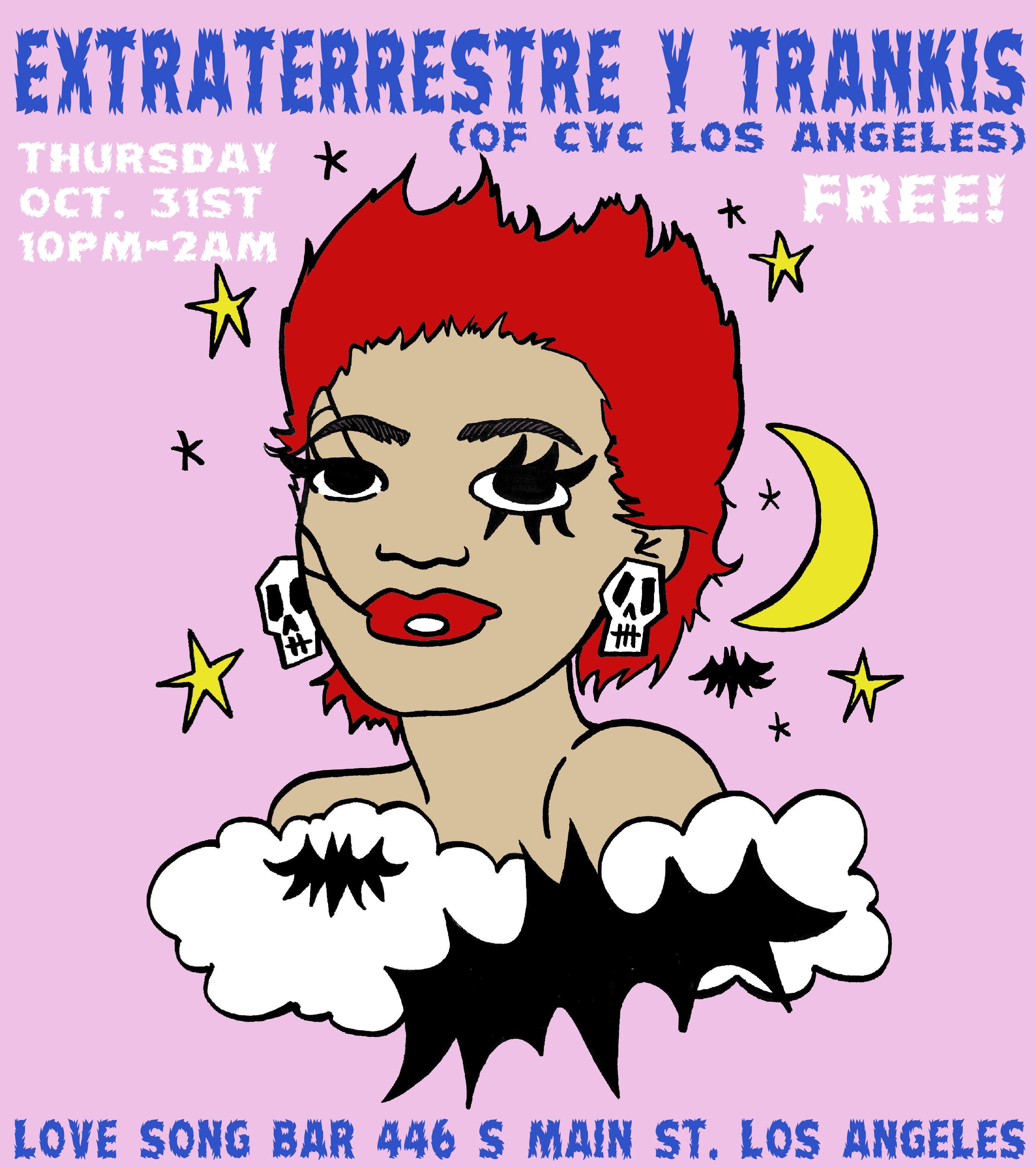 Extraterrestre y Trankis: A Chulita Vinyl Halloween Party