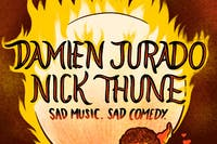 Damien Jurado + Nick Thune - Sad Music. Sad Comedy