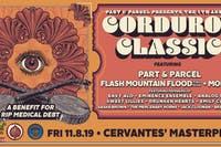 Part & Parcel's Corduroy Classic w/ Flash Mountain Flood, Morsel