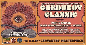 Part & Parcel's Corduroy Classic w/ Flash Mountain Flood, Morsel