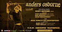 Anders Osborne ft. Scott Metzger (JRAD) w/ Ross James & The Counterpoint