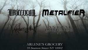 Metalfier, Nascentum,  Wandering Oak, The Astral Cadence