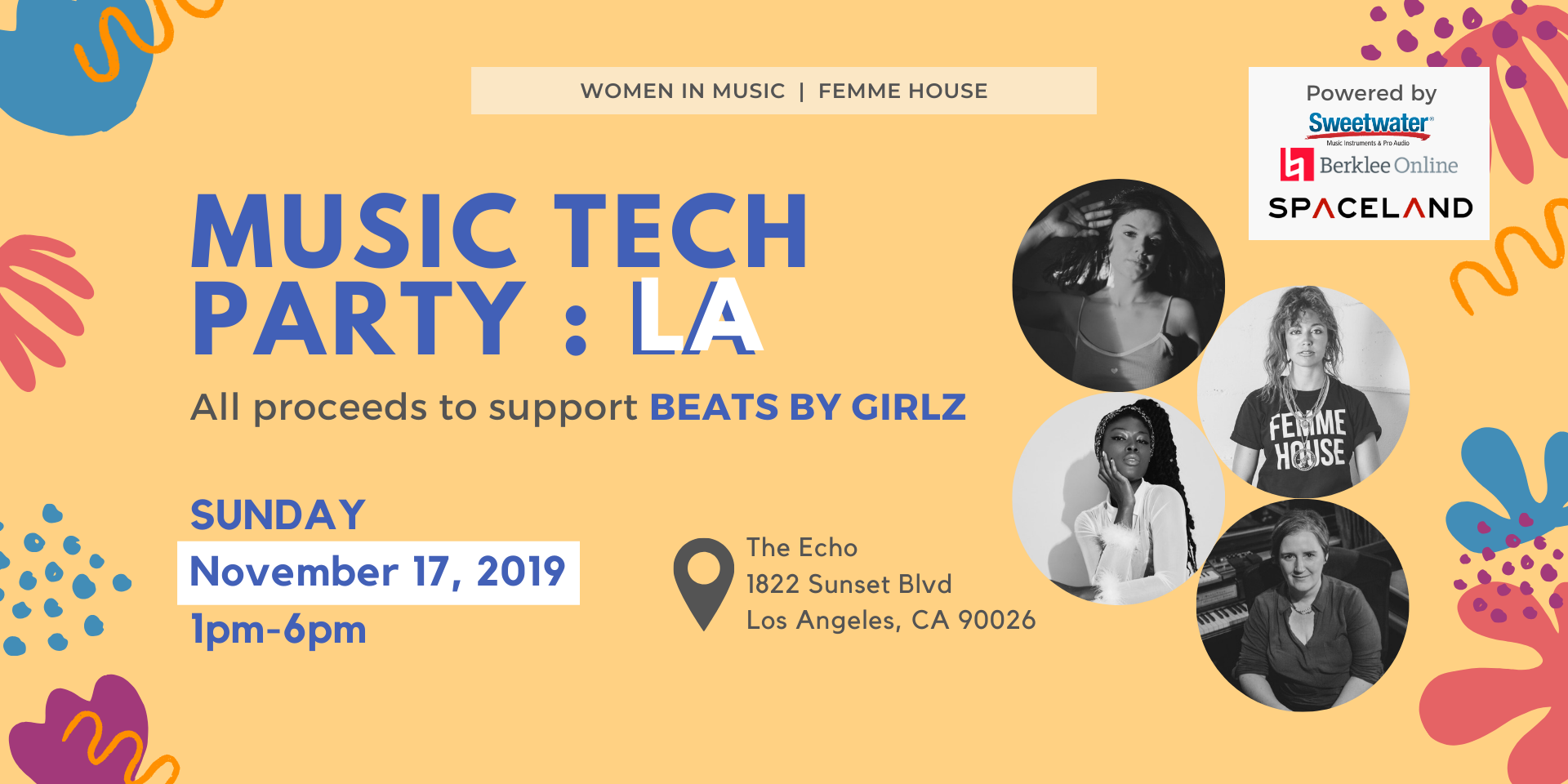 MUSIC TECH PARTY LA: Fundraiser for Beats by Girlz