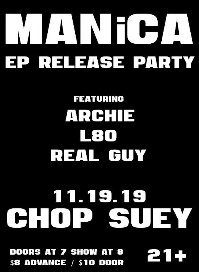 Manica (EP Release Party)