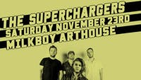 The SuperChargers w/ Others May Fail, Robot Jurassic at MilkBoy Arthouse