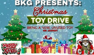 Our Annual  Christmas Toy & Jacket Drive Hip Hop Show