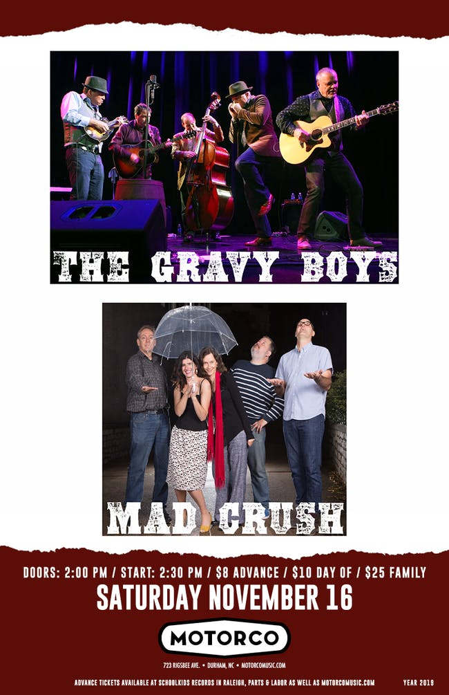 THE GRAVY BOYS/ Mad Crush