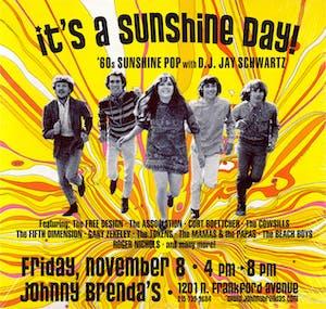 Friday HAPPY HOUR:  It's A Sunshine Day with DJ Jay Schwartz
