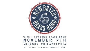 New Breed Brass Band w/ LowDown Brass Band