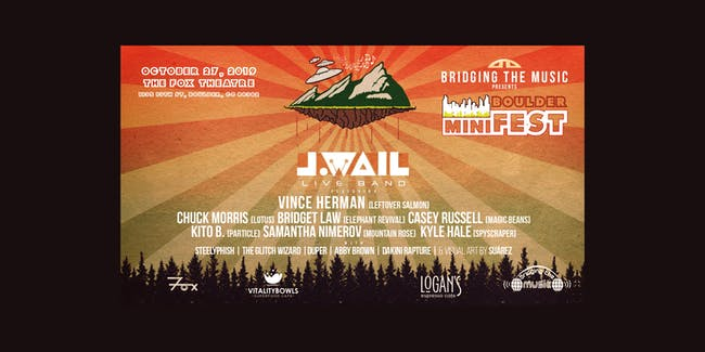 BOULDER MINIFEST: J.WAIL ft. MEMBERS OF LEFTOVER SALMON, LOTUS & MORE