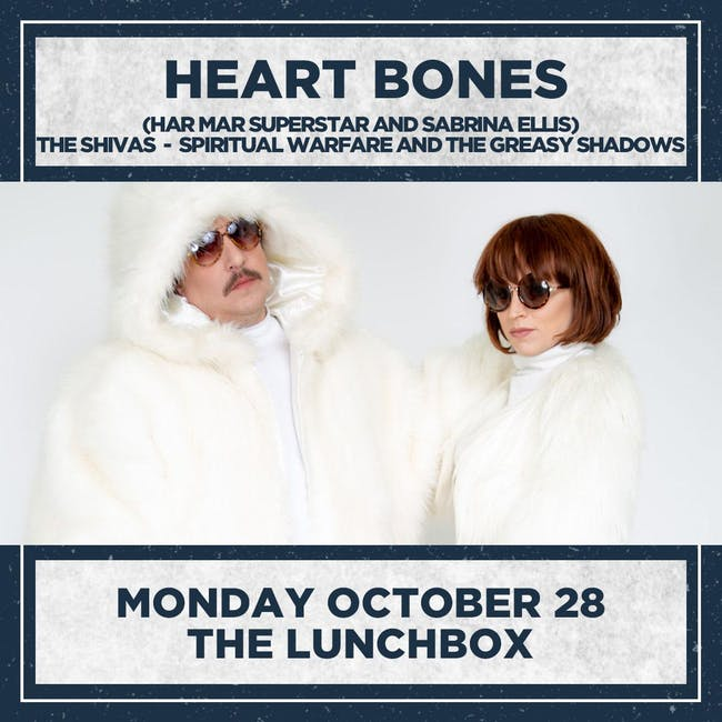 HEART BONES (Har Mar Superstar & Sabrina Ellis)