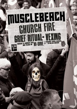 Muscle Beach / Church Fire / Grief Ritual / Vexing