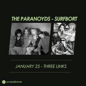 THE PARANOYDS • SURFBORT