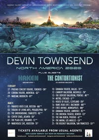 DEVIN TOWNSEND: EMPATH VOL. 1 NORTH AMERICAN TOUR