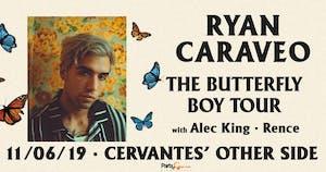 Ryan Caraveo - The Butterfly Boy Tour w/ Alec King, Rence