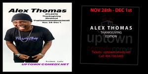Comedian Alex Thomas