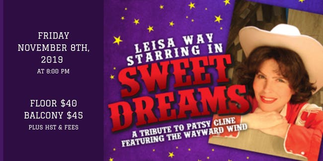 Sweet Dreams - Patsy Cline - Featuring Leisa Way