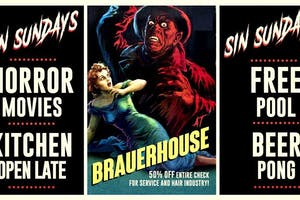 Sin Sundays Horror Movie Nights Tickets Brauer House Lombard