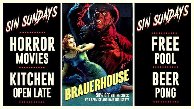 Sin Sundays Horror Movie Nights