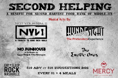 Second Helping: A Benefit for Second Harvest Food Bank