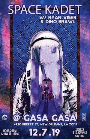 Space Kadet + Ryan Visor + Dino Brawl