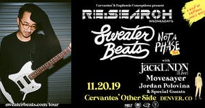 RE:Search feat. Sweater Beats w/ jackLNDN, Movesayer, Jordan Polovina