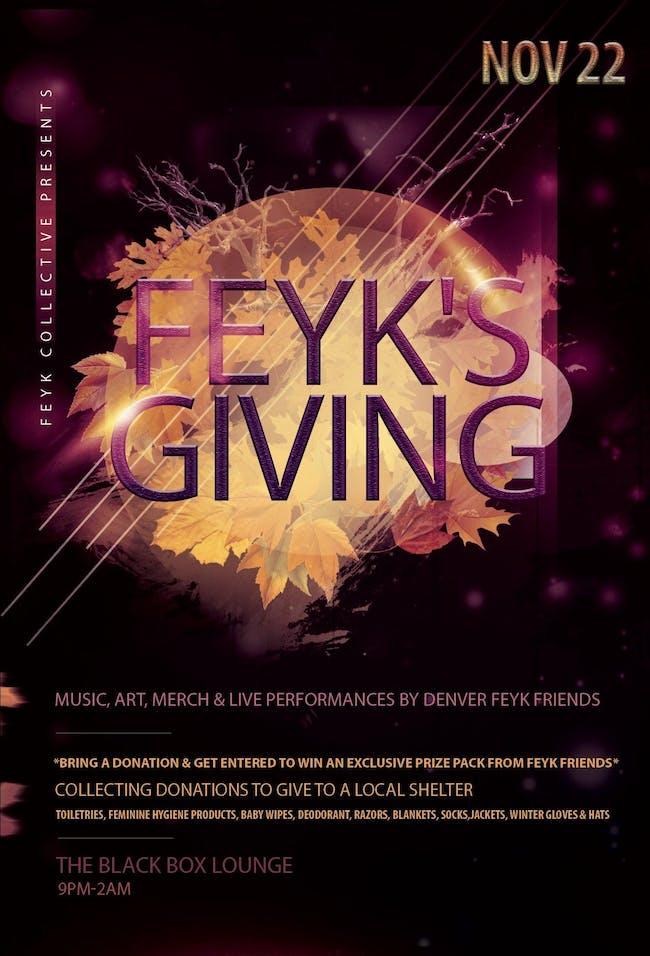 FEYK's Giving