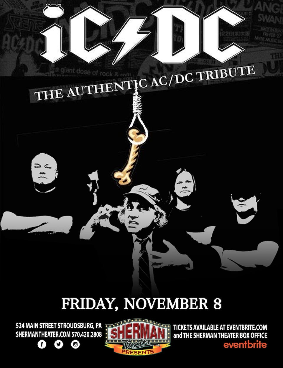 iC/DC - The Authentic AC/DC Tribute