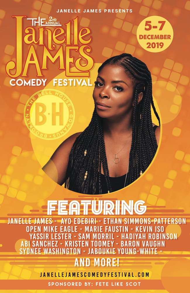 Janelle James Fest: Comedians That Don't Owe Me Money with Fete Like Scot