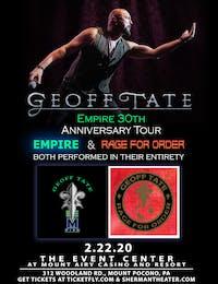 Geoff Tate's 30TH ANNIVERSARY OF EMPIRE IN 2020