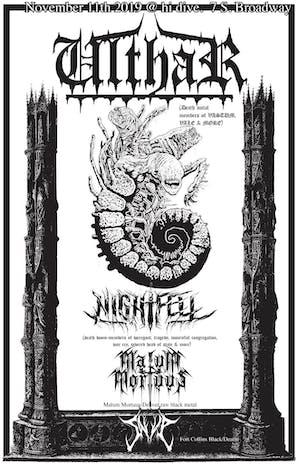 Ulthar / Nightfell / Malum Mortuus / Saeva
