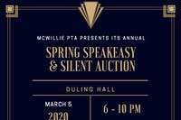 Annual Spring Speakeasy & Silent Auction