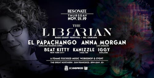 Resonate: A Femme Focused Music Workshop & Event ft. The Librarian and more
