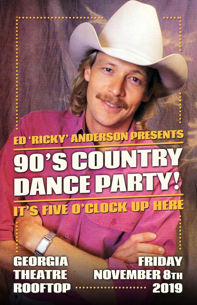 90's Country Dance Party