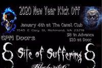 2020 New Year Kickoff w/ Site Of Suffering, Black Water Drowning, Alcindor