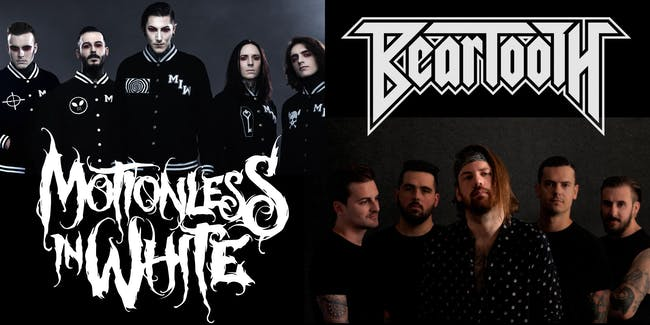 Motionless In White/Beartooth: Diseased and Disguised Tour