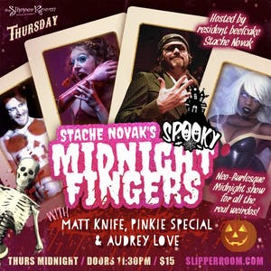 Stache Novak's Spooky Midnight Fingers