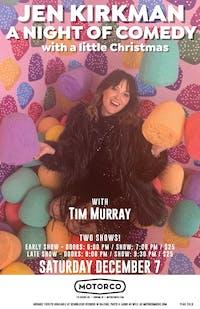 Jen Kirkman with Tim Murray