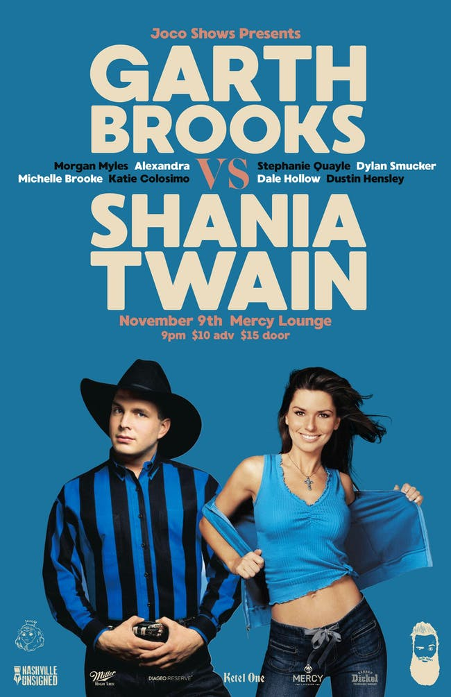 Garth Brooks vs Shania Twain Tribute