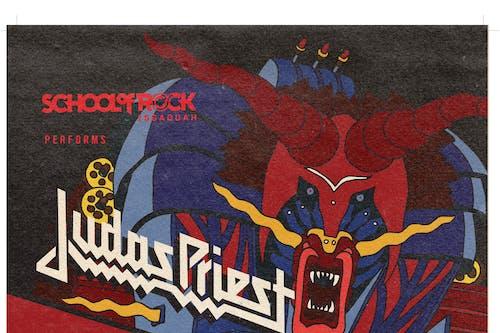School of Rock Issaquah performs Maiden vs Priest