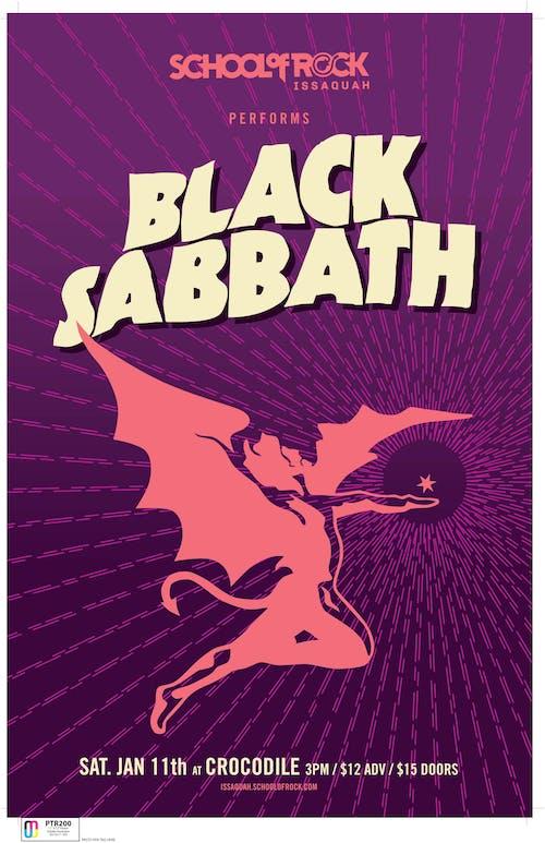 School of Rock Issaquah performs Black Sabbath