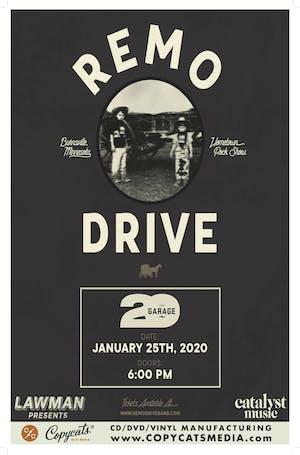 Remo Drive - THE GARAGE's 20th Anniversary Kick-Off!