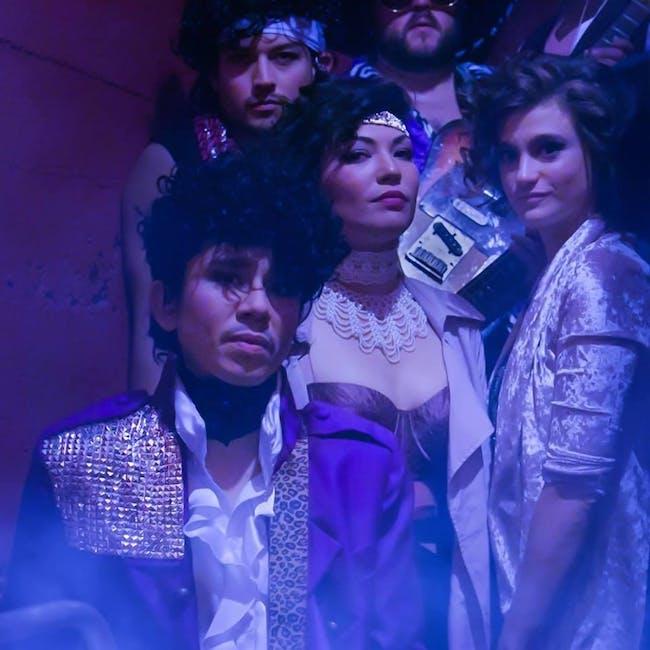 Princegiving with Purple Veins