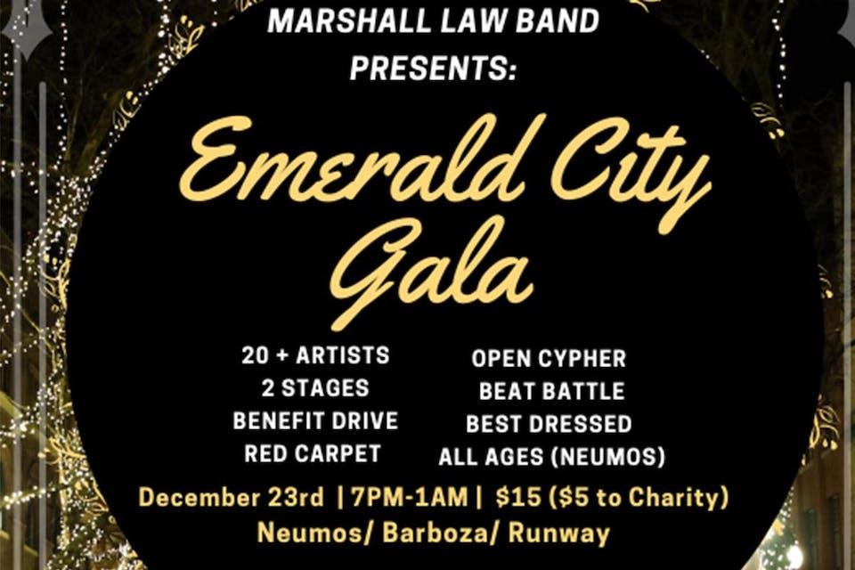 Marshall Law Band Presents: Emerald City Gala