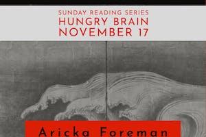 Sunday Reading Series: A. Foreman, E. L. Sánchez, F. Schmalz