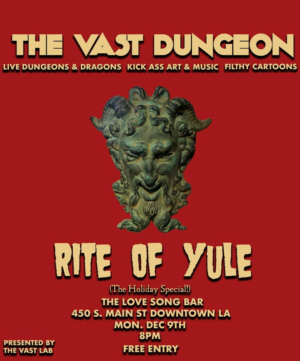 Vast Dungeon: Rite of Yule (The Holiday Special)