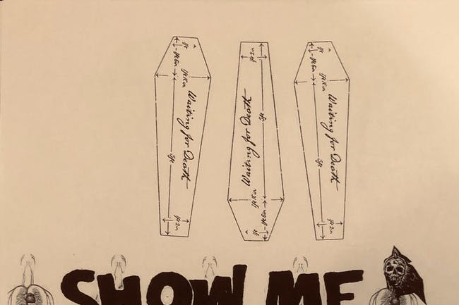 SHOW ME THE BODY • Skeleton • URN • Calculated Chaos