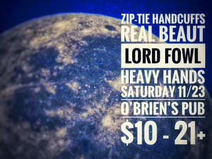 Zip-Tie Handcuffs, Real Beaut, Lord Fowl, Heavy Hands