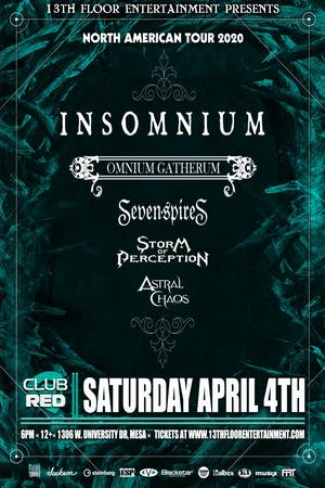 13th Floor Entertainment » Insomnium