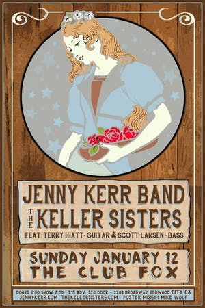 Jenny Kerr Band w/The Keller Sisters